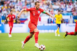 July 7, 2018 - Samara, Russia - 180707 Harry Kane of England during the FIFA World Cup quarter final match between Sweden and England on July 7, 2018 in Samara..Photo: Petter Arvidson / BILDBYRÃ…N / kod PA / 92083 (Credit Image: © Petter Arvidson/Bildbyran via ZUMA Press)
