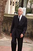 Charles Powell, Mark Birley funeral. St Paul's , Knightsbridge. London. 19 September 2007. -DO NOT ARCHIVE-© Copyright Photograph by Dafydd Jones. 248 Clapham Rd. London SW9 0PZ. Tel 0207 820 0771. www.dafjones.com.