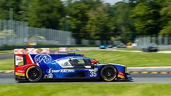 The russian team SMP RACING (drivers Victor SHAITAR, Egor ORUDZHEV and Matevos ISAAKYAN) here at first chicane during the race of ELMS 4 hours of Monza.