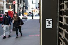 Downtown Manhattan during the Covid-19 Corona Virus pandemic