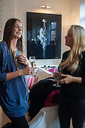 CARLY VINCENT; SUZIE TURNER, Party given by Basia Briggs and Richard Briggs at their home in Chelsea. London. 14 May 2012