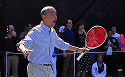 President Barack Obama participates in the White House Easter Egg Roll on the South Lawn of the White House in Washington, DC, USA, on April 6, 2015. Photo by Dennis Brack/Pool/ABACAPRESS.COM  | 494884_023 Washington Etats-Unis United States