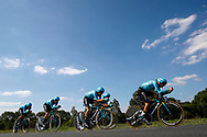 Astana Pro Team during the Tour de France 2018, Stage 3, Team Time Trial, Cholet-Cholet (35 km) on July 9th, 2018 - Photo Luca Bettini/ BettiniPhoto / ProSportsImages / DPPI