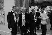TRISTRAM HUNT; SIR PETER STOTHARD, MICHAEL LANDY; GILLIAN WEARING; NICHOLAS CULLINAN,,  RA Annual dinner 2018. Piccadilly, 5 June 2018.