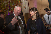 ADAM BOULTON; ALEX SHULMAN, Fashion and Gardens, The Garden Museum, Lambeth Palace Rd. SE!. 6 February 2014.