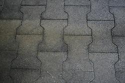Rubber staltegels van Govaplast<br /> Stal Cool - Appels 2010<br /> © Dirk Caremans