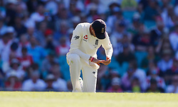 England's Joe Root looks djected in the field during day two of the Ashes Test match at Sydney Cricket Ground.