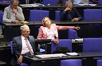 DEU, Deutschland, Germany, Berlin, 07.09.2021: Beatrix von Storch (MdB, AfD) im Plenum des Deutschen Bundestags.
