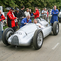 1938 Auto Union D Type driven by Nick Mason at Goodwood Festival of Speed 2008
