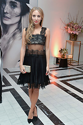 HARLEY VIERA NEWTON at a dinner to celebrate the exclusive Capsule collection: Maison Michel by Karl Lagerfeld held at Selfridges, 400 Oxford Street, London on 23rd February 2015.