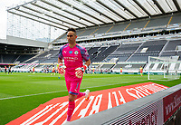 Manchester City's Claudio Bravo rushes to grab a new match ball<br /> <br /> Photographer Alex Dodd/CameraSport<br /> <br /> FA Cup Quarter-Final - Newcastle United v Manchester City - Sunday 28th June 2020 - St James' Park - Newcastle<br />  <br /> World Copyright © 2020 CameraSport. All rights reserved. 43 Linden Ave. Countesthorpe. Leicester. England. LE8 5PG - Tel: +44 (0) 116 277 4147 - admin@camerasport.com - www.camerasport.com