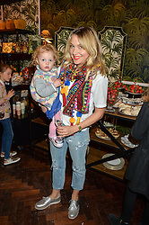 Blogger ZOE DE PASS and her daughter DELPHINE at the launch of the House of Hackney La Coqueta childrens' fashion collectection held at House of Hackney, 131 Shoreditch High Street, London on 23rd April 2016.