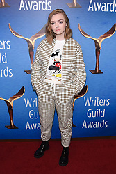 February 17, 2019 - Beverly Hills, California, USA - ELSIE FISHER attends the 2019 Writers Guild Awards Los Angeles Ceremony at The Beverly Hilton Hotel in Beverly Hills, California, (Credit Image: © Billy Bennight/ZUMA Wire)