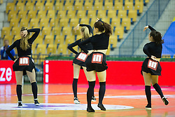 During friendly handball match between National Teams of Slovenia and F.Y.R. of Macedonia before EHF EURO 2016 in Poland on January 5, 2016 in Arena Zlatorog, Celje, Slovenia. Photo by Urban Urbanc / Sportida