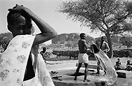 MALI. Songo (Dogon Country). 4/01/1986: Rehabilitated village well.