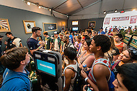 Sony Press Conference at Lollapalooza Festival in Chicago