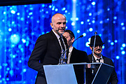 Brussels , 01/02/2020 : Les Magritte du Cinema . The Academie Andre Delvaux and the RTBF, producer and TV channel , present the 10th Ceremony of the Magritte Awards at the Square in Brussels .<br /> Pix: Jacques-Henri Bronckart<br /> Credit : Alexis Haulot - Dana Le Lardic - Didier Bauwerarts - Frédéric Sierakowski - Olivier Polet / Isopix