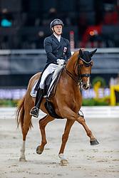 Wagner Nicolas, LUX, Quarter Back Junior<br /> Stuttgart - German Masters 2019<br /> © Hippo Foto - Stefan Lafrentz