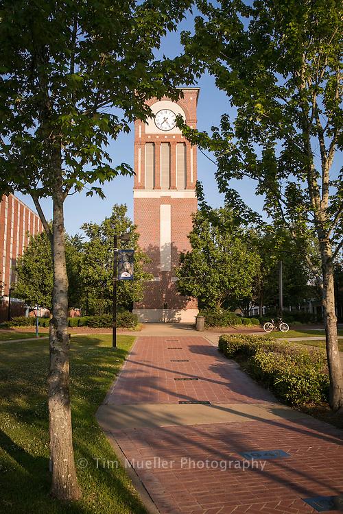 The Centennial Tower on the campus of Louisiana Tech University in Ruston, Louisiana.