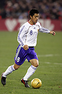 10 February 2006: Japan's Mitsuo Ogasawara. The United States Men's National Team defeated Japan 3-2 at SBC Park in San Francisco, California in an International Friendly soccer match.
