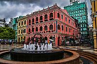 Pastel Colors of Senado Square