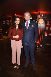 Gary & Lauren Kemp at the Costa Book Awards 2017 held at  Quaglino's, 16 Bury Street, London England. 30 January 2018.