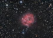 The Cocoon Nebula (IC 5146) in constellation Cygnus.