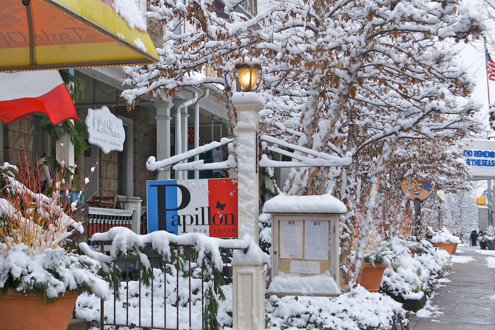 Winter Snow, Berks Co., PA Scene West Reading Street Scenes