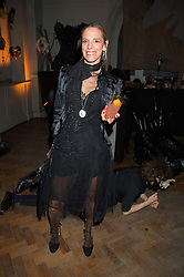 TIPHAINE DE LUSSY at the Veuve Clicquot Widow Series launch party hosted by Nick Knight and Jo Thornton MD Moet Hennessy UK held at The College, Central St.Martins, 12-42 Southampton Row, London on 29th October 2015.
