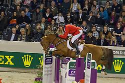 Fellers Rich (USA) - Flexible<br /> Rolex FEI World Cup ™ Jumping Final 2012<br /> 'S Hertogenbosch 2012<br /> © Dirk Caremans