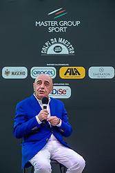 ADRIANO GALLIANI  <br /> INAUGURAZIONE CALCIOMERCATO 2021 GRAND HOTEL RIMINI