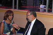 November 3, 2012- New York, NY: Media Personality Gayle King and Business Executive Richard Parsons at the EBONY Power 100 Gala Presented by Nationwide held at Jazz at Lincoln Center on November 3, 2012 in New York City. The EBONY Power 100 Gala Presented by Nationwide salutes the country's most influential African Americans.(Terrence Jennings) .