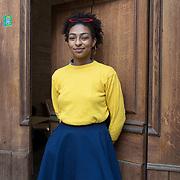 Piccolo Teatro Grassi, Milano, Italia, 30 Marzo 2021. Gaia Ikeagwuana - 20 anni, studentessa al primo anno dell'Accademia di Brera, corso di nuove tecnologie dell'arte.