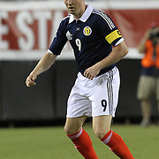 Scotland Forward Kenny Miller during an international friendly soccer match between Scotland and the United States at EverBank Field on Saturday, May 26, 2012 in Jacksonville, Florida.  The United States won the match 5-1 in front of 44,000 fans. (AP Photo/Alex Menendez)