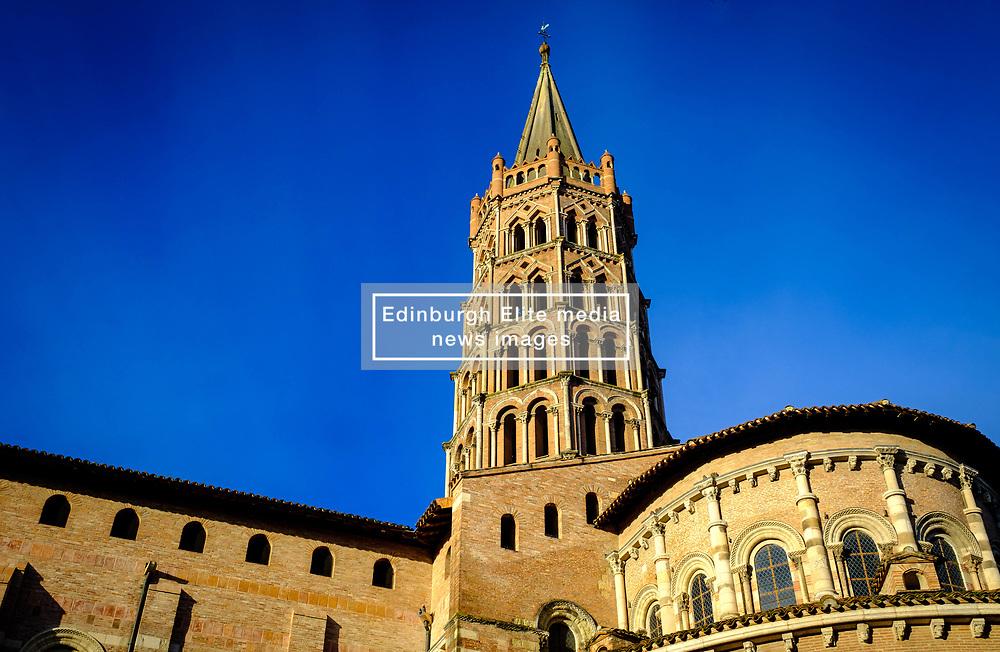 The Basilique Saint-Sernin de Toulouse, (Basilica of Saint-Sernin) Toulouse, France<br /> <br /> (c) Andrew Wilson   Edinburgh Elite media