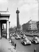 22/04/1962<br /> 04/22/1962<br /> 22 April 1962<br /> Easter Sunday Military Parade in Dublin<br /> An armoured car division passes the saluting base at the G.P.O. in Dublin, where President Eamon de Valera took the salute during the Easter Sunday Parade in 1962.