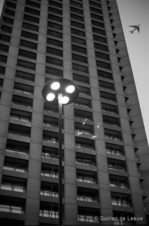 Flat building in London, UK