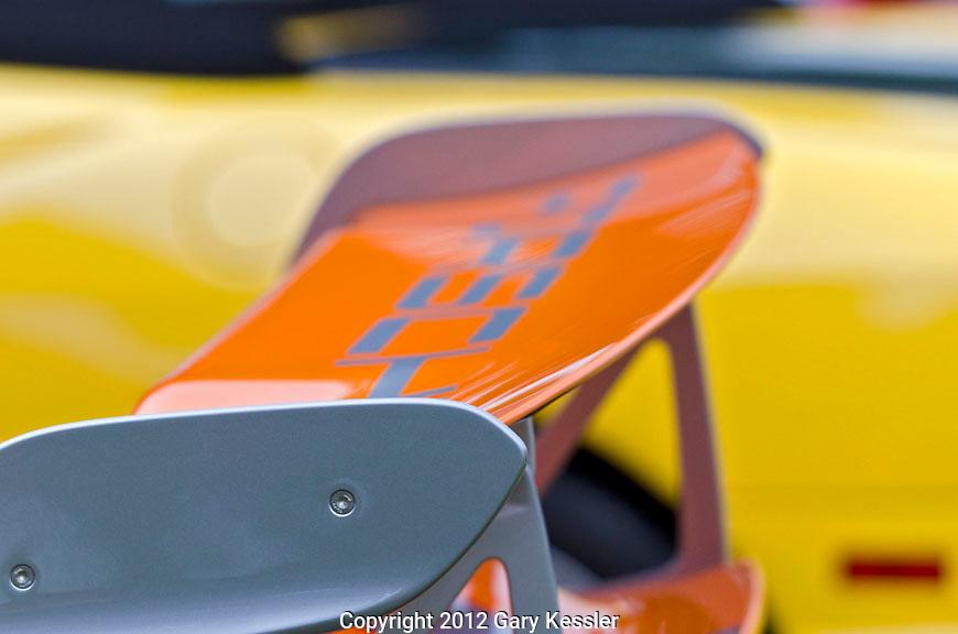 Porsche RSR GT3 4.0 Rear Wing .Keeneland Concours DE'Elgance,Lexington,Ky.