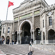 Main entrance of Istanbul University