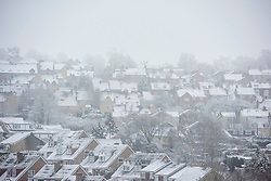 © Licensed to London News Pictures. 05/03/2016. Oxfordshire. Chipping Norton. Snow in Oxfordshire early morning on 5th March 2016.. Photo credit : MARK HEMSWORTH/LNP