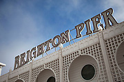 The Brighton Marine Palace and Pier is a pleasure pier in Brighton, England. It is generally known as the Palace Pier for short, but has been informally renamed Brighton Pier in 2000. Brighton, East Sussex.