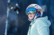 Marie Martinod during Women's Ski Superpipe Practice during 2015 X Games Aspen at Buttermilk Mountain in Aspen, CO. ©Brett Wilhelm/ESPN