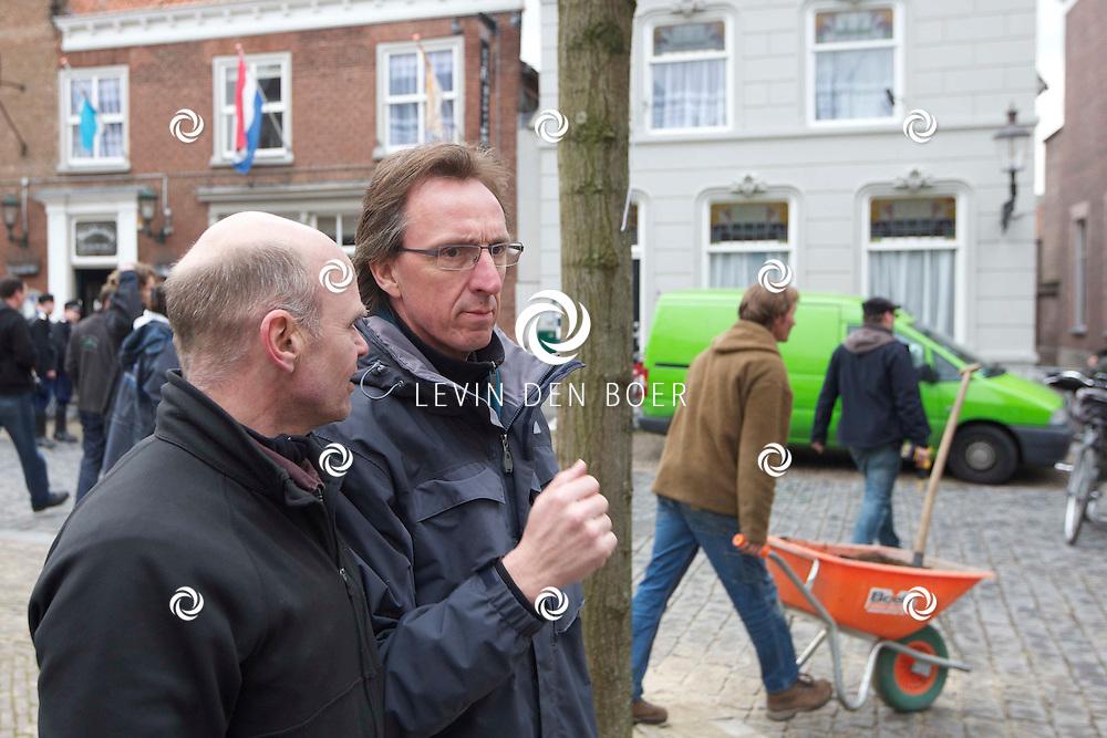 RAVENSTEIN - Andre van Duren (Regisseur) op de set van de film De Bende van Oss. FOTO LEVIN DEN BOER - PERSFOTO.NU