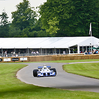#33  Tyrrell P34 (project 34) (1976) at Goodwood Festival of Speed on 23 June 2007