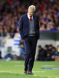 Arsenal manager Arsene Wenger on the touchline during the UEFA Europa League, Semi Final, Second Leg at Wanda Metropolitano, Madrid.