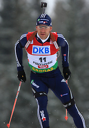 Lowell Bailey (USA) at Men 20 km Individual at E.ON Ruhrgas IBU World Cup Biathlon in Hochfilzen (replacement Pokljuka), on December 18, 2008, in Hochfilzen, Austria. (Photo by Vid Ponikvar / Sportida)