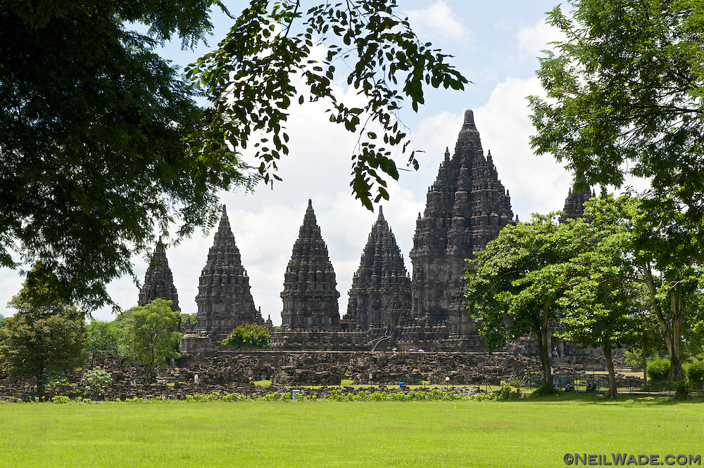 Prambanan Temple is very reminiscent of Ankor Wat, in Cambodia.