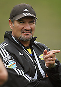 Hurricanes coach Colin Cooper.<br /> Super 14 - Hurricanes training session, at Rugby League Park, Newtown, Wellington. Tuesday, 28 April 2009. Photo: Dave Lintott/PHOTOSPORT