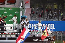 September 2, 2018 - Monza, Italy - Motorsports: FIA Formula One World Championship 2018, Grand Prix of Italy, .#44 Lewis Hamilton (GBR, Mercedes AMG Petronas Motorsport) (Credit Image: © Hoch Zwei via ZUMA Wire)