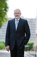 caucasian senior businessman portrait confident